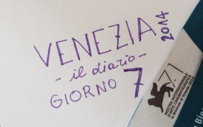 Venezia 2014, diario del Festival - giorno 7