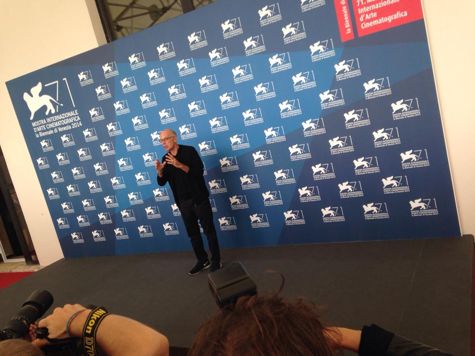Un momento del photocall con Gabriele Salvatores a Venezia 2014