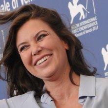 Sabina Guzzanti al photocall de La trattativa a Venezia 2014