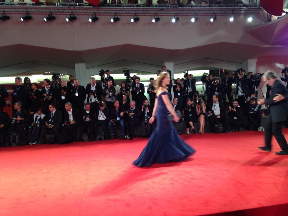 Cristiana Capotondi sul red carpet di Venezia 2014