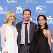Venezia 71: Ethan Hawke, January Jones e Zoe Kravitz al photocall di Good Kill