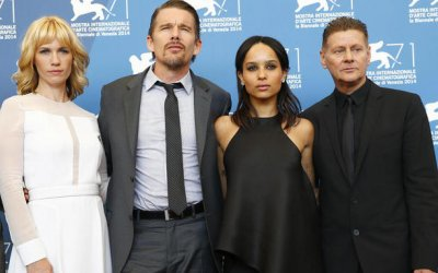 Good Kill: Ethan Hawke, January Jones e Zoe Kravitz a Venezia