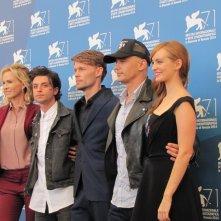 L'urlo e il furore a Venezia 2014 - James Franco con il cast del suo film