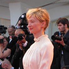 Venezia 2014 , la Rohrwacher, interprete di Hungry Hearts sul red carpet della serata finale