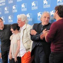 'Pasolini' a Venezia 2014 - Abel Ferrare con il cast del suo film