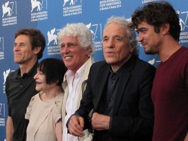 'Pasolini' a Venezia 2014 - Abel Ferrara con il cast del film