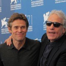 'Pasolini' a Venezia 2014 - Willem Dafoe con Abel Ferrara