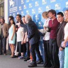 'Pasolini' a Venezia 2014 - il cast del film alla Mostra