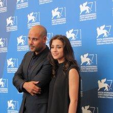'Perez' a Venezia 2014 - Marco D'amore con Simona Tabasco