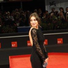Simona Tabasco sul red carpet di Venezia 2014 per Perez.