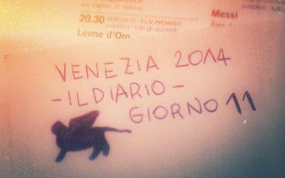 Venezia 2014, diario del Festival - giorno 11