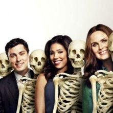 Bones: il cast in un'immagine promozionale della decima stagione