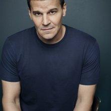 Bones: David Boreanaz in un'immagine promozionale della decima stagione