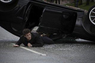 The Flash:  un'immagine di Grant Gustin nel pilot della comic series