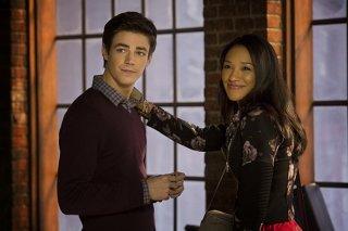 The Flash: Grant Gustin e Candice Patton nel pilot della comic series