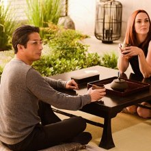 Extant: Hiroyuki Sanada e Annie Wersching nell'episodio A Pack of Cards