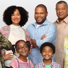 Black-ish: il cast in un'immagine promozionale della serie