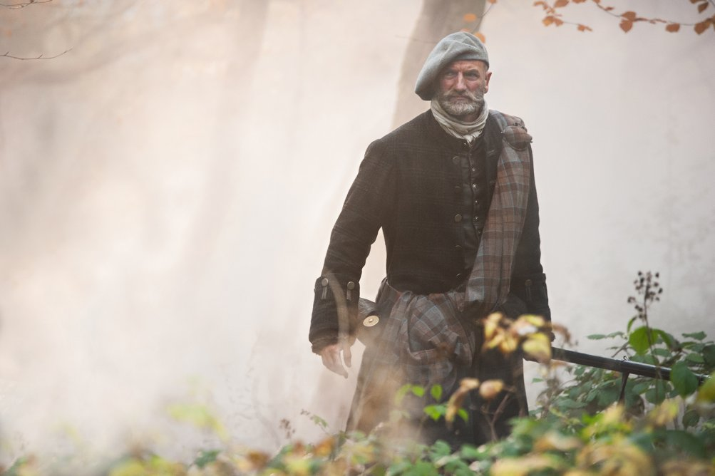 Outlander: Graham McTavish nell'episodio The Gathering