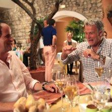 Lionel Abelanski e Franck Dubosc in una scena di Barbecue
