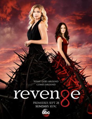 Revenge: la locandina per la quarta stagione