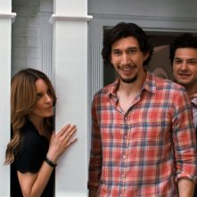 This Is Where I Leave You: Adam Driver e Tina Fey in un momento del film