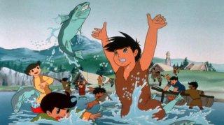 Una scena de La grande avventura del piccolo principe Valiant