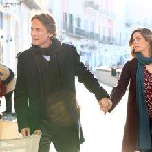 Un'altra vita: Cesare Bocci e Vanessa Incontrada in una scena della fiction