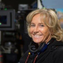 Un'altra vita: Cinzia Th Torrini sul set della fiction