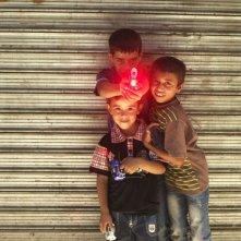 Everyday Rebellion: bambini giordani in una scena del documentario