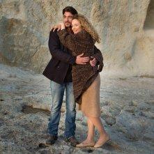 Un'altra vita: Daniele Liotti e Francesca Cavallin in una scena della fiction