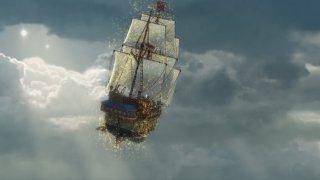 Trilli e la nave pirata: una scena del film Disney