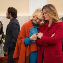 Un'altra vita: Loretta Goggi e Vanessa Incontrada in una scena della fiction