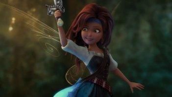 Trilli e la nave pirata: Zarina in una scena del film