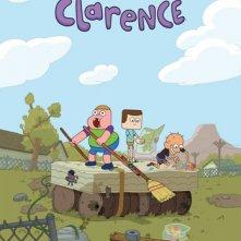 Clarence: manifesto della serie animata