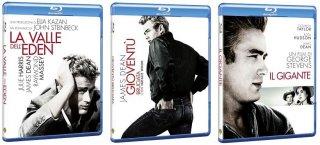 Le cover homevideo dei blu-ray di James Dean