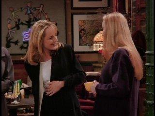 Friends: Helen Hunt e Lisa Kudrow nell'episodio