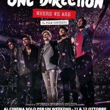 Locandina di One Direction: Where We Are – Il Film concerto