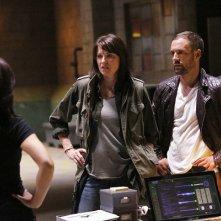 Agents of S.H.I.E.L.D.: una scena con Lucy Lawless nell'episodio Shadows
