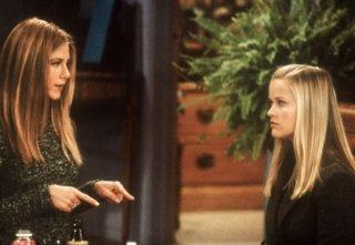 Friends: Jennifer Aniston e Reese Whiterspoon nell'episodio Una visita inattesa