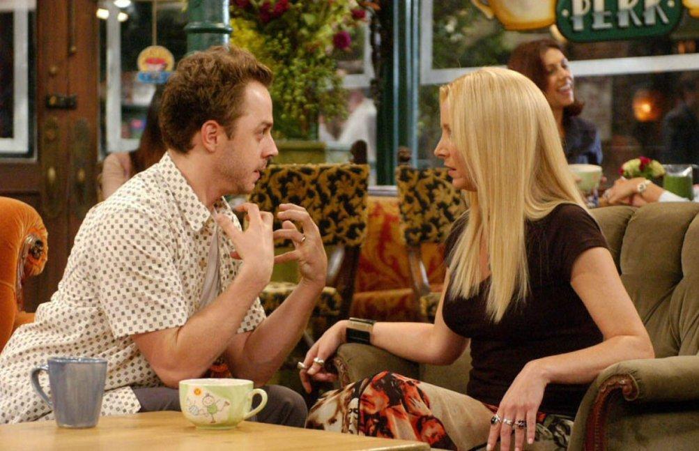 Giovanni Ribisi e Lisa Kudrow in una scena di Friends