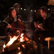 Resta anche domani: Chloe Moretz insieme a Jamie Blackley in una scena