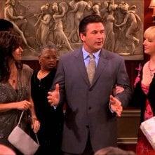 Friends: Courtney Cox, Alec Baldwin e Lisa Kudrow nell'episodio Invito a Massapequa