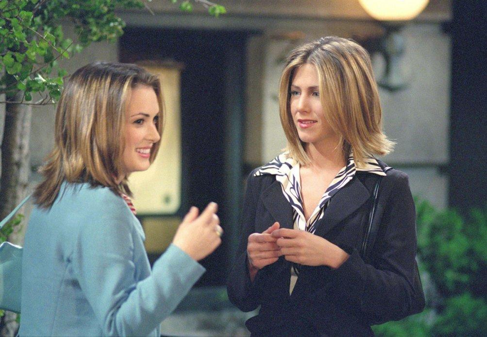 Friends: Winona Ryder e Jennifer Aniston nell'episodio Ricordi quella sera?