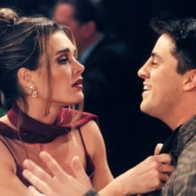 Friends: Brooke Shields e Matt LeBlanc nell'episodio Il grande Marcel