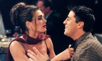 Friends: Brooke Shields e Matt LeBlanc nell'episodio Il grande Marcel