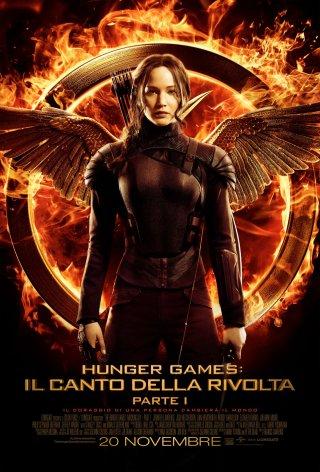 Locandina di The Hunger Games: Il canto della rivolta - Parte 1