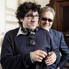 La buca: il regista Daniele Ciprì sul set con Rocco Papaleo