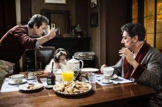 La buca: Sergio Castellitto insieme a Rocco Papaleo in un momento del film