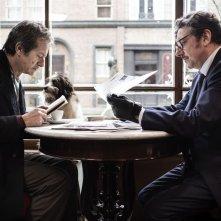 Sergio Castellitto e Rocco Papaleo in una scena del film La buca