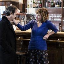 La buca: Rocco Papaleo e Valeria Bruni Tedeschi in una scena del film